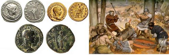 romeinse rijk geld